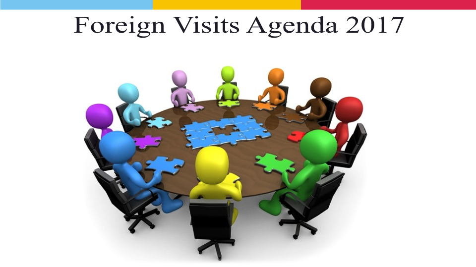 Foreign Visits Agenda 2017