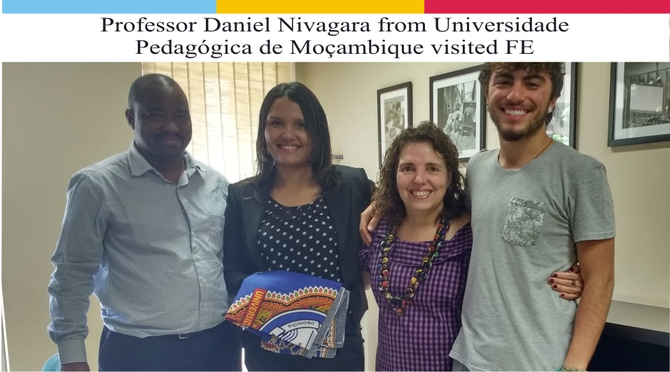 Professor Daniel Nivagara from Universidade Pedagógica de Moçambique visited FE