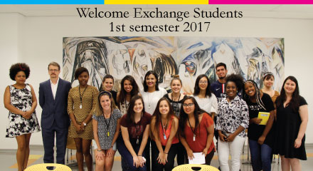 Welcome Exchange Students – 1st semester 2017