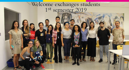 Welcome Exchanges Students  – 1º semester 2019