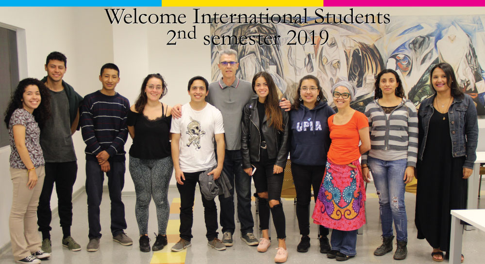 Welcome Exchange Students – 2º semester 2019