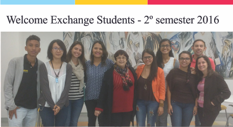 Welcome Exchange Students – 2º semester 2016