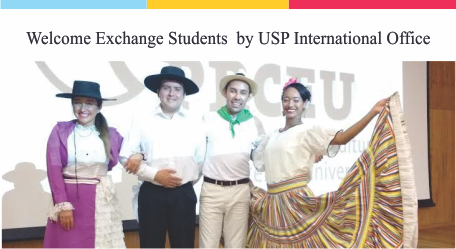 Welcome Exchange Students by USP International Office