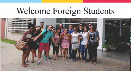 Welcome Foreign Students