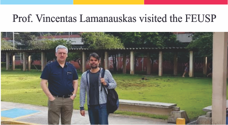 We received Prof. Dr. Vincentas Lamanauskas from the University of Siauliai in Lithuania