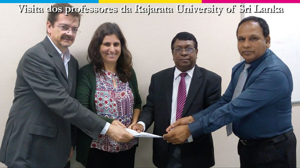 Visita da Rajarata University of Sri Lanka