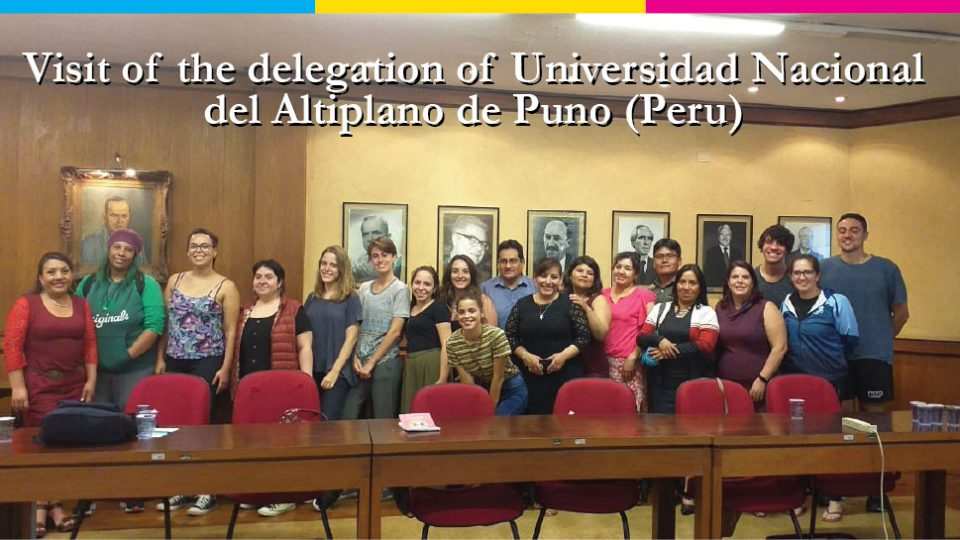 Visit of the delegation of Universidad Nacional del Altiplano de Puno (Peru).