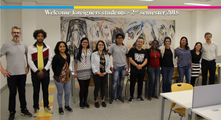 Welcome Exchange Students – 2nd 2018